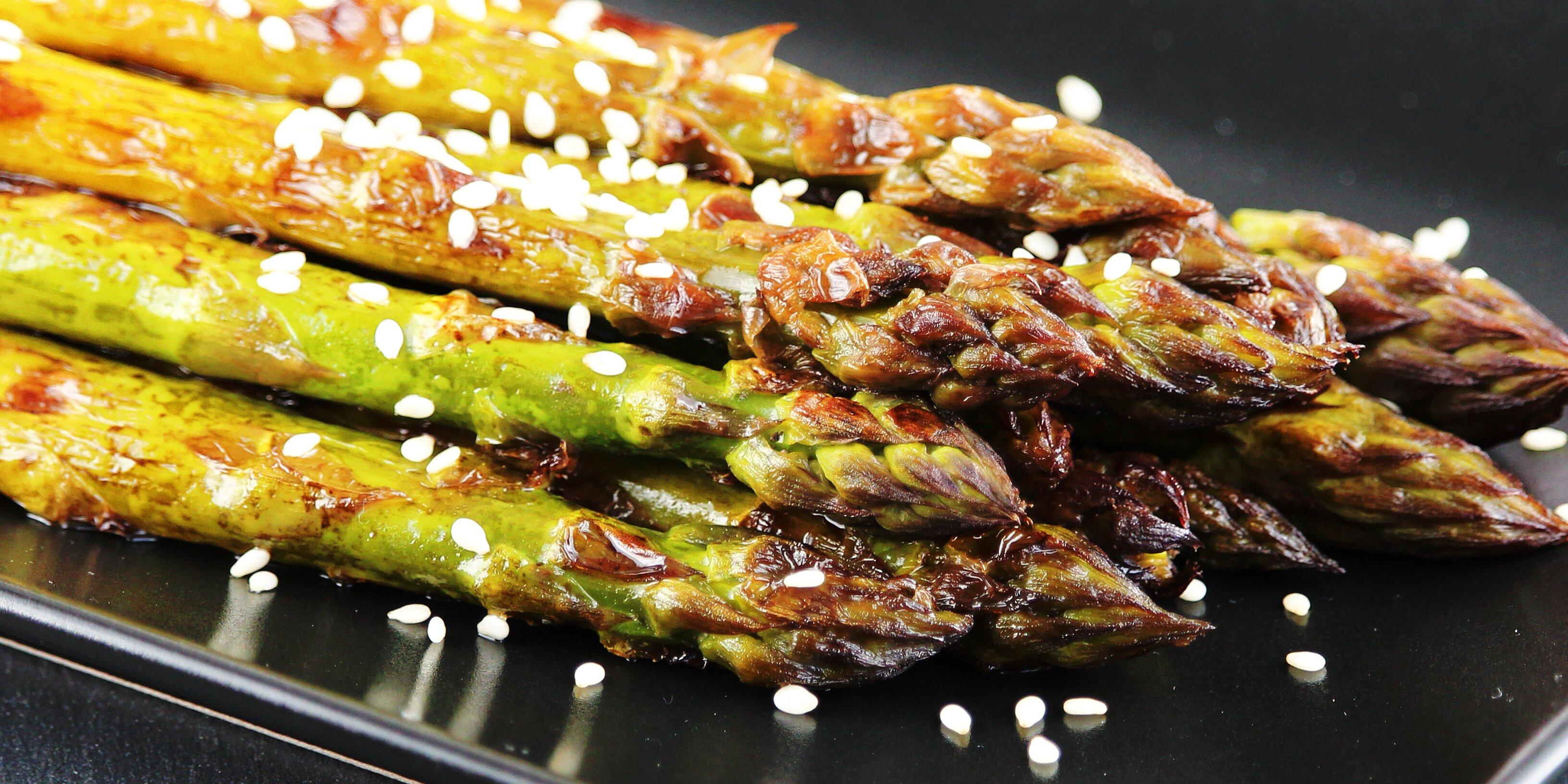tasty barbecued asparagus recipe