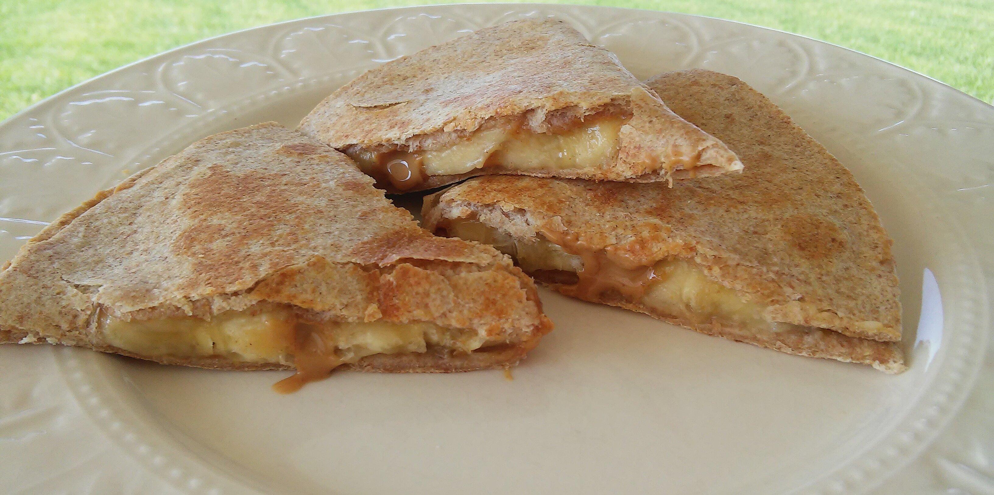peanut butter banana quesadilla recipe