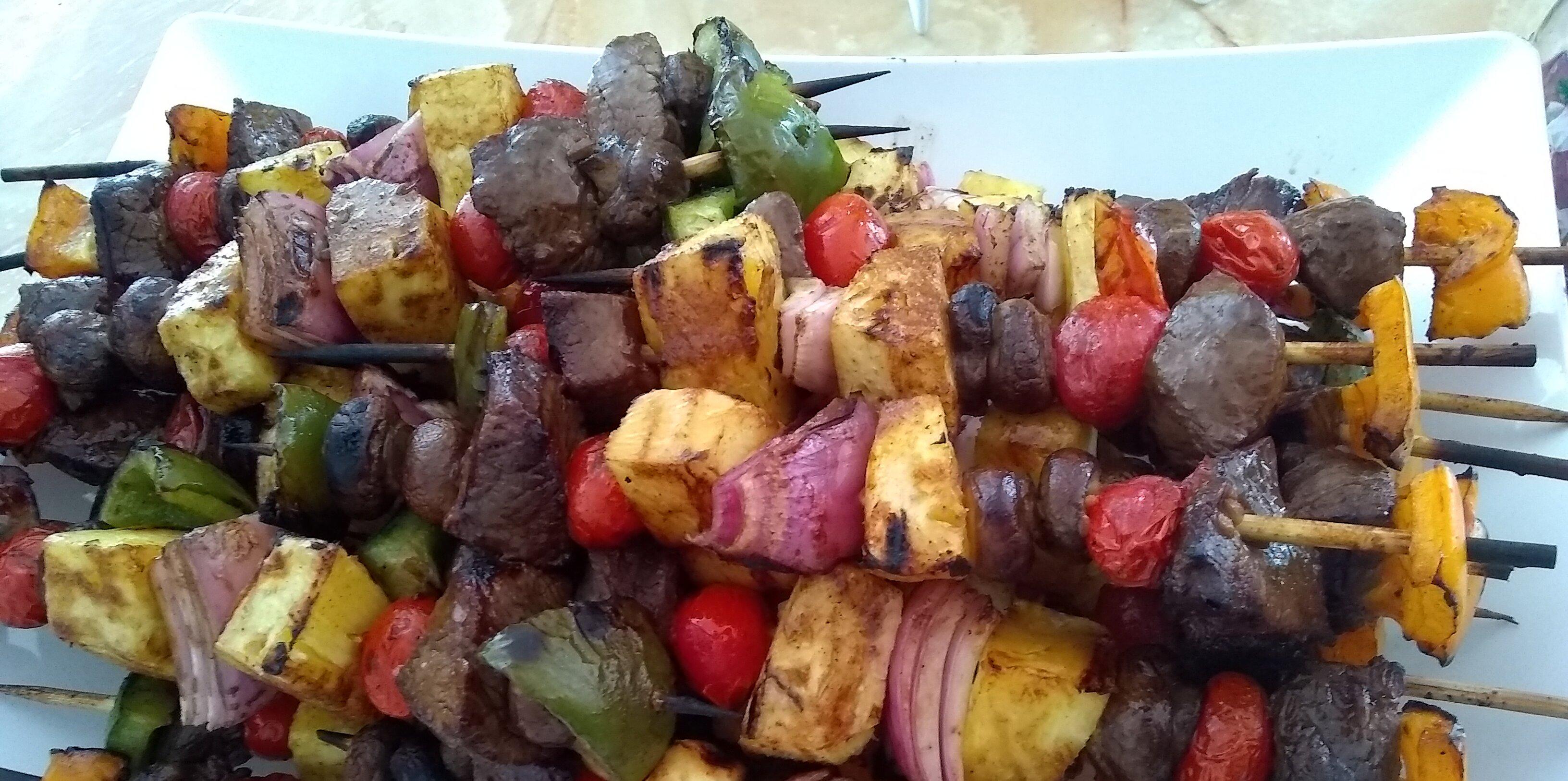 moms beef shish kabobs recipe