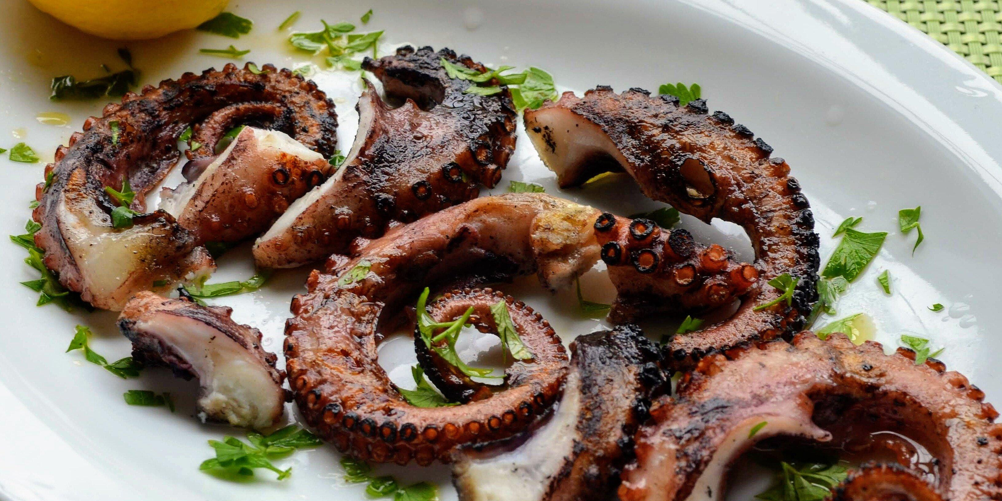 grilled octopus recipe