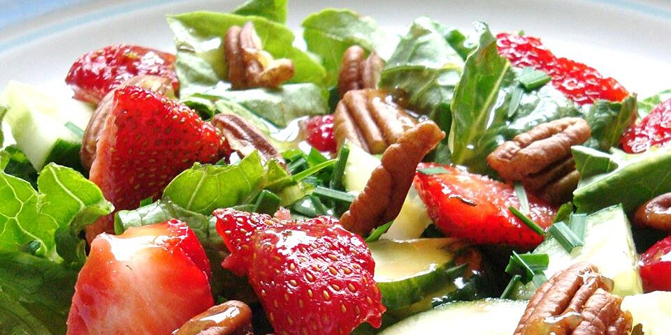strawberry romaine salad ii recipe