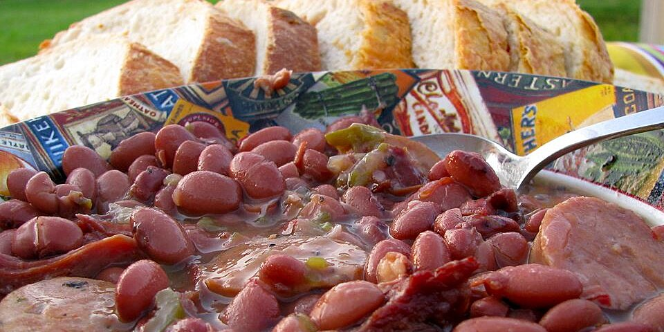 back to authentic no shortcuts louisiana red beans and rice recipe