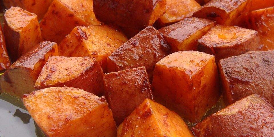 cinnamon sweet potato slices recipe