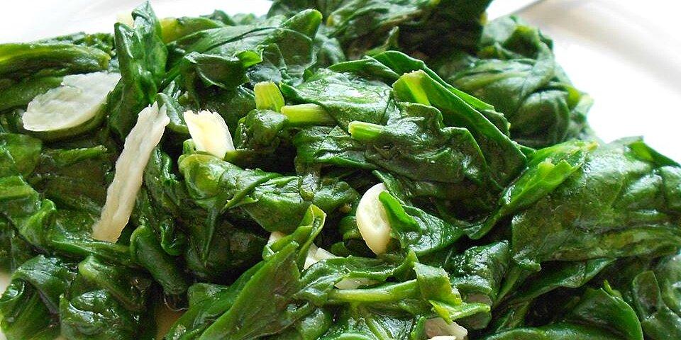 garlic spinach recipe