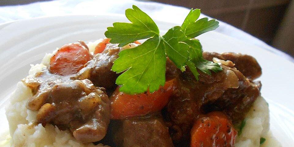 beer braised irish stew and colcannon recipe
