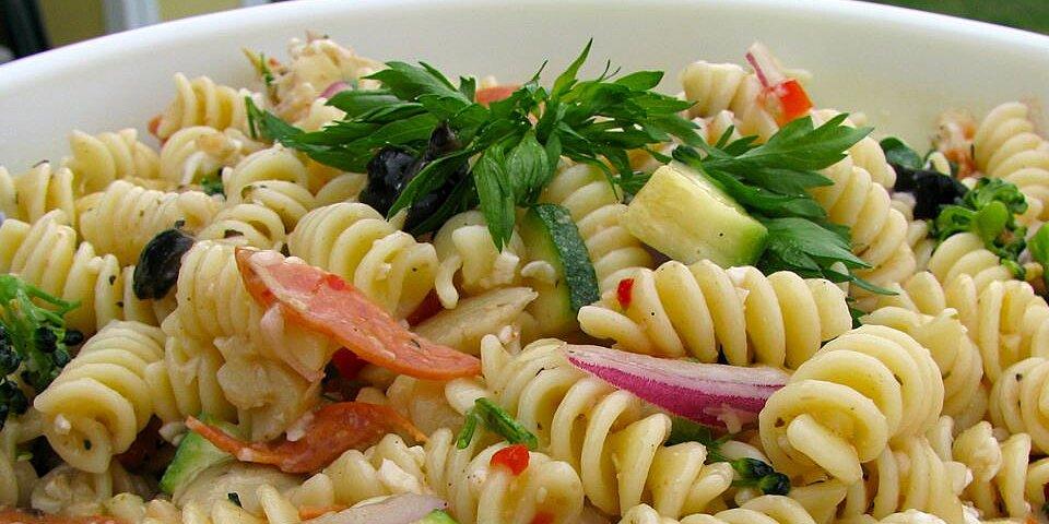 summer pasta salad ii recipe