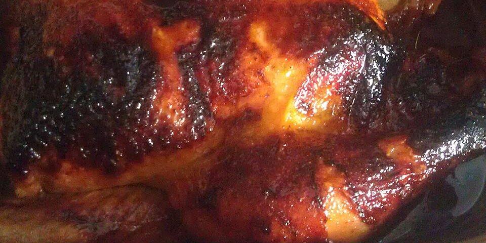 spicy honey roasted chicken recipe