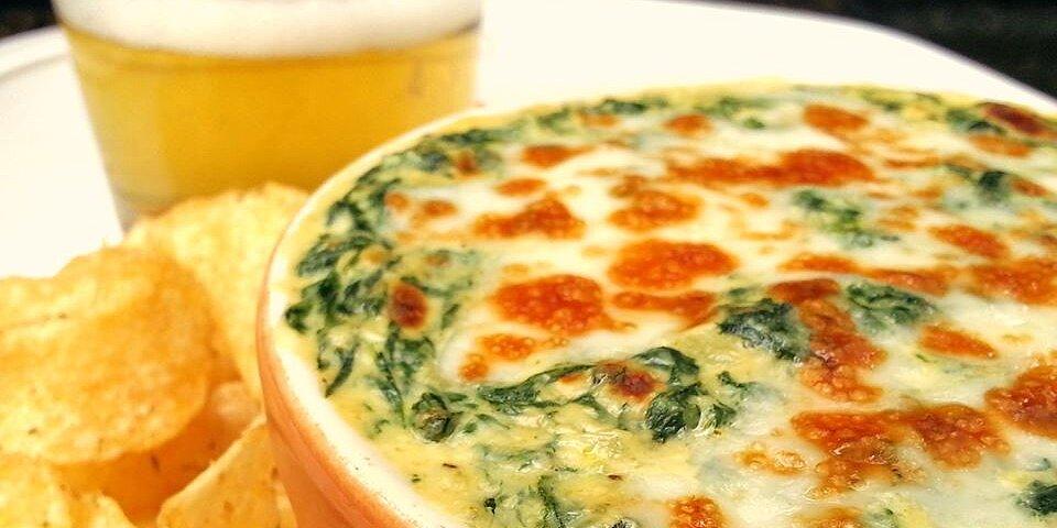 creamy cheesy spinach dip recipe