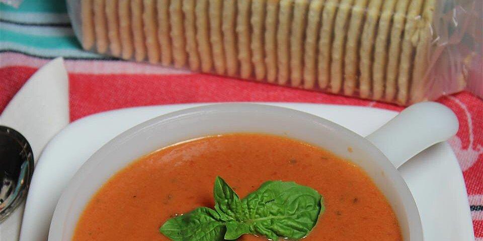 favorite basil tomato soup recipe