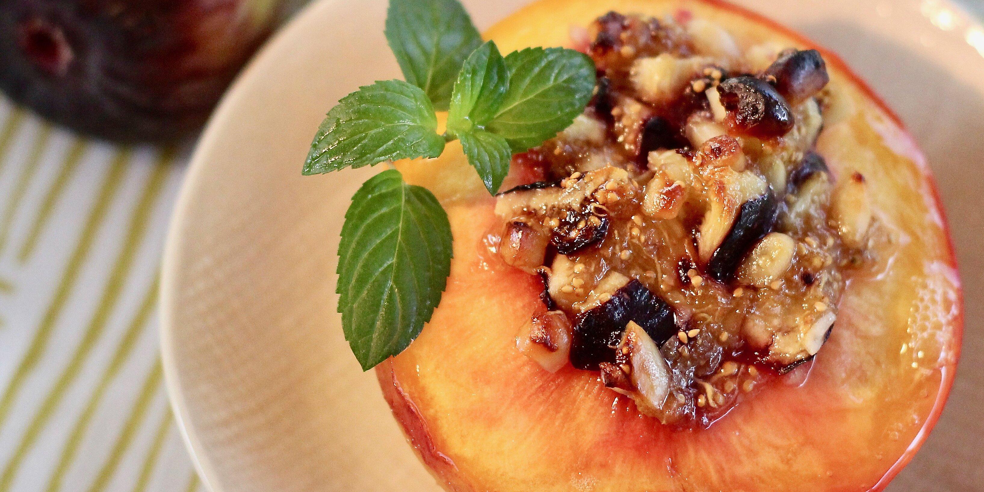 dolce pesca sweet peaches recipe