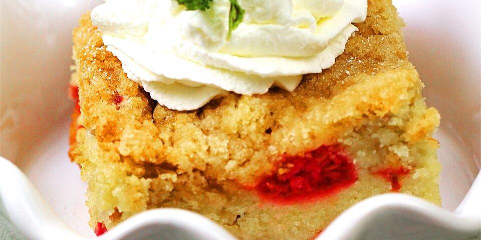 buttermilk mango berry crumb cake recipe