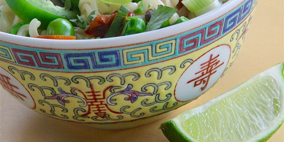 superfast asian noodle bowl for 1 recipe