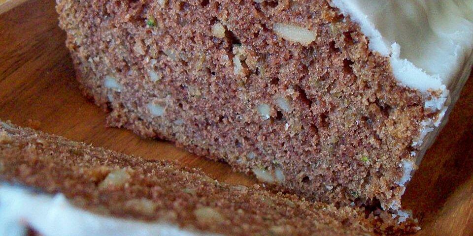 donnas chocolate zucchini bread recipe