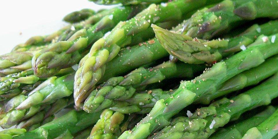 simply steamed asparagus recipe