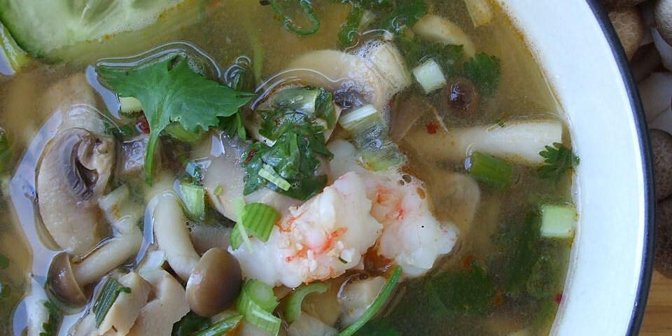 super hot and sour shrimp soup recipe