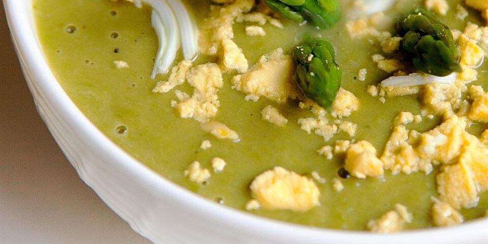 asparagus lemon and mint soup recipe