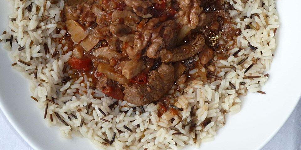 beef and walnut stew recipe