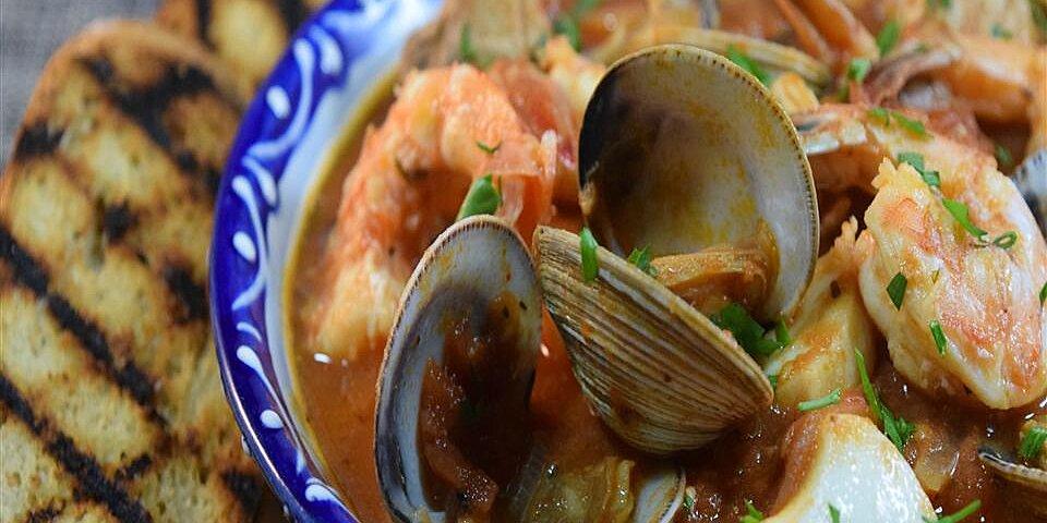 easy mediterranean seafood stew