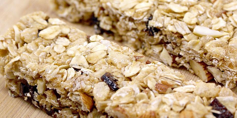 chewy no bake granola bars recipe