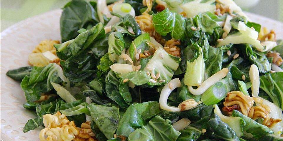 bok choy ramen salad recipe