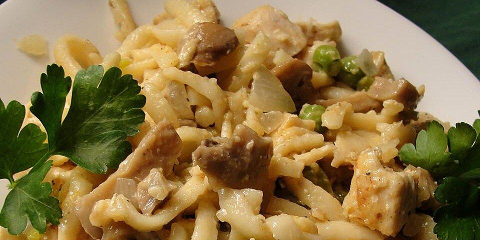 chicken or turkey tetrazzini deluxe recipe