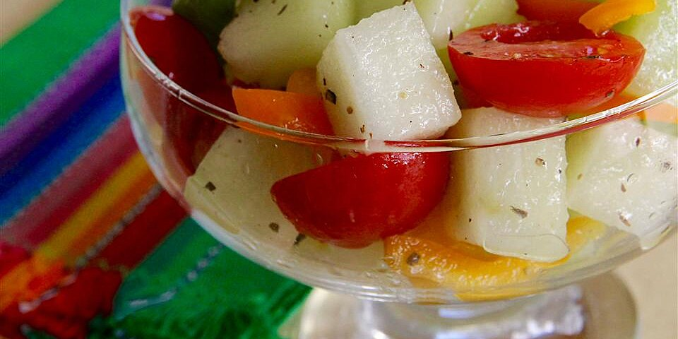 honeydew grape tomato salad recipe
