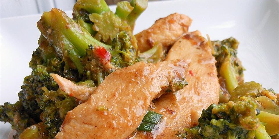 stir fry chicken and broccoli recipe