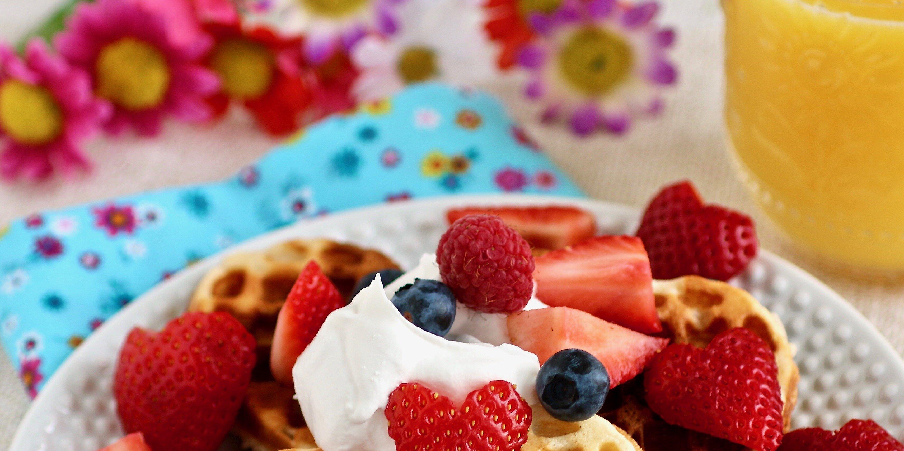 scandinavian sweetheart waffles recipe