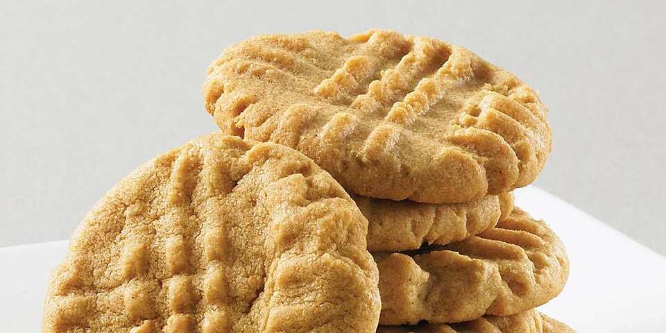 super easy peanut butter cookies
