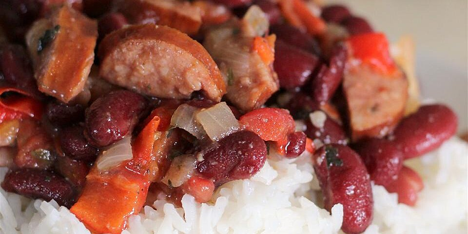 jessicas red beans and rice recipe