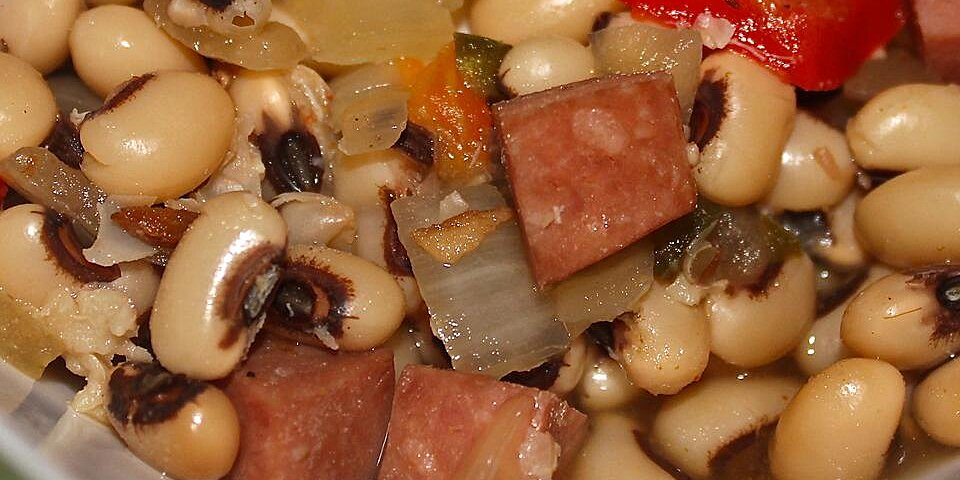 slow cooker spicy black eyed peas