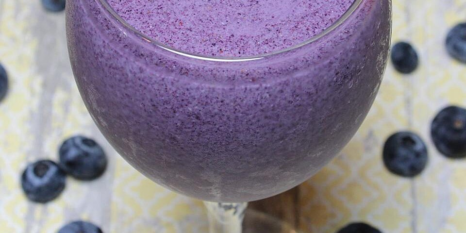 almond butter and blueberry smoothie recipe