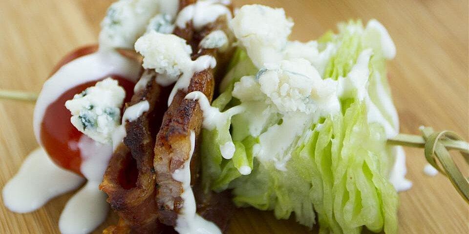wedge salad on a stick recipe