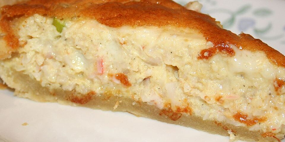 crab quiche recipe