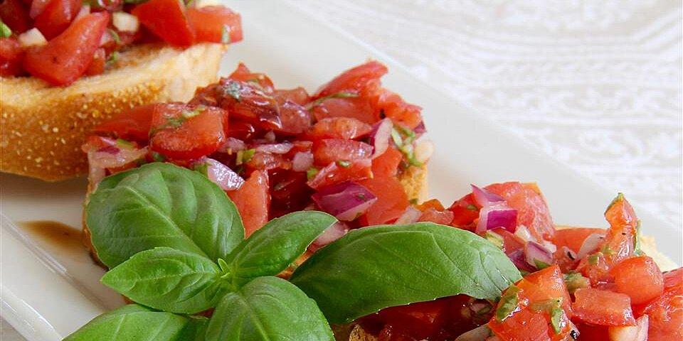 italian style bruschetta recipe