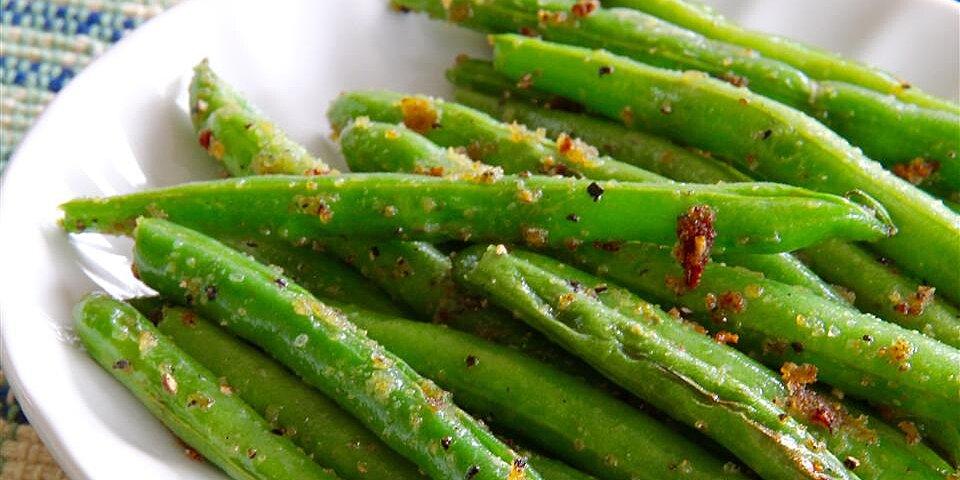 sauteed garden fresh green beans recipe