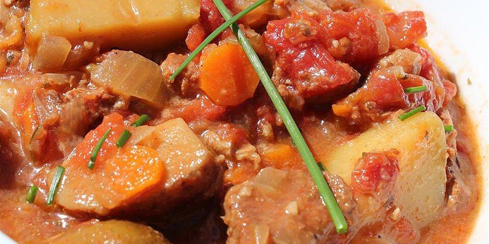 moms basic vegetable beef stew recipe