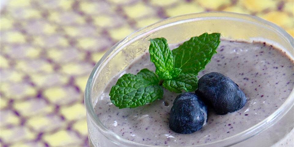 avocado blueberry smoothie recipe