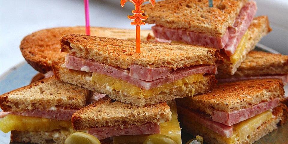 mini spam sandwiches recipe