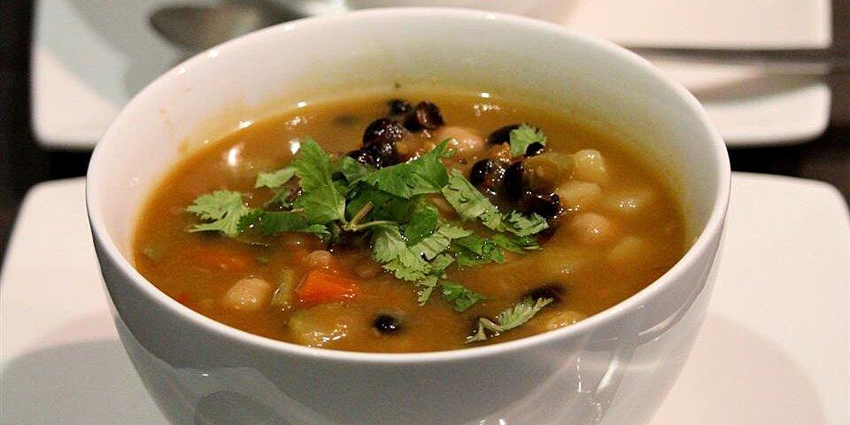 potato mushroom and black bean soup recipe