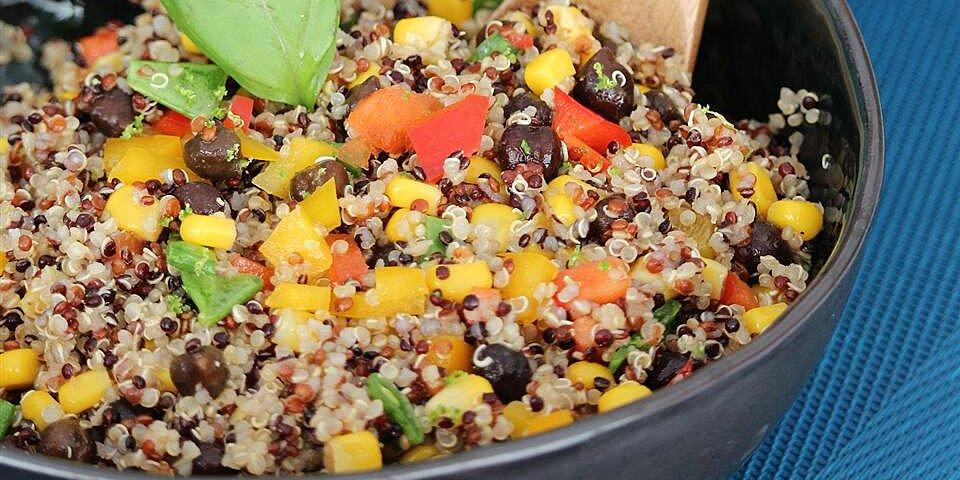black bean corn and quinoa salad recipe