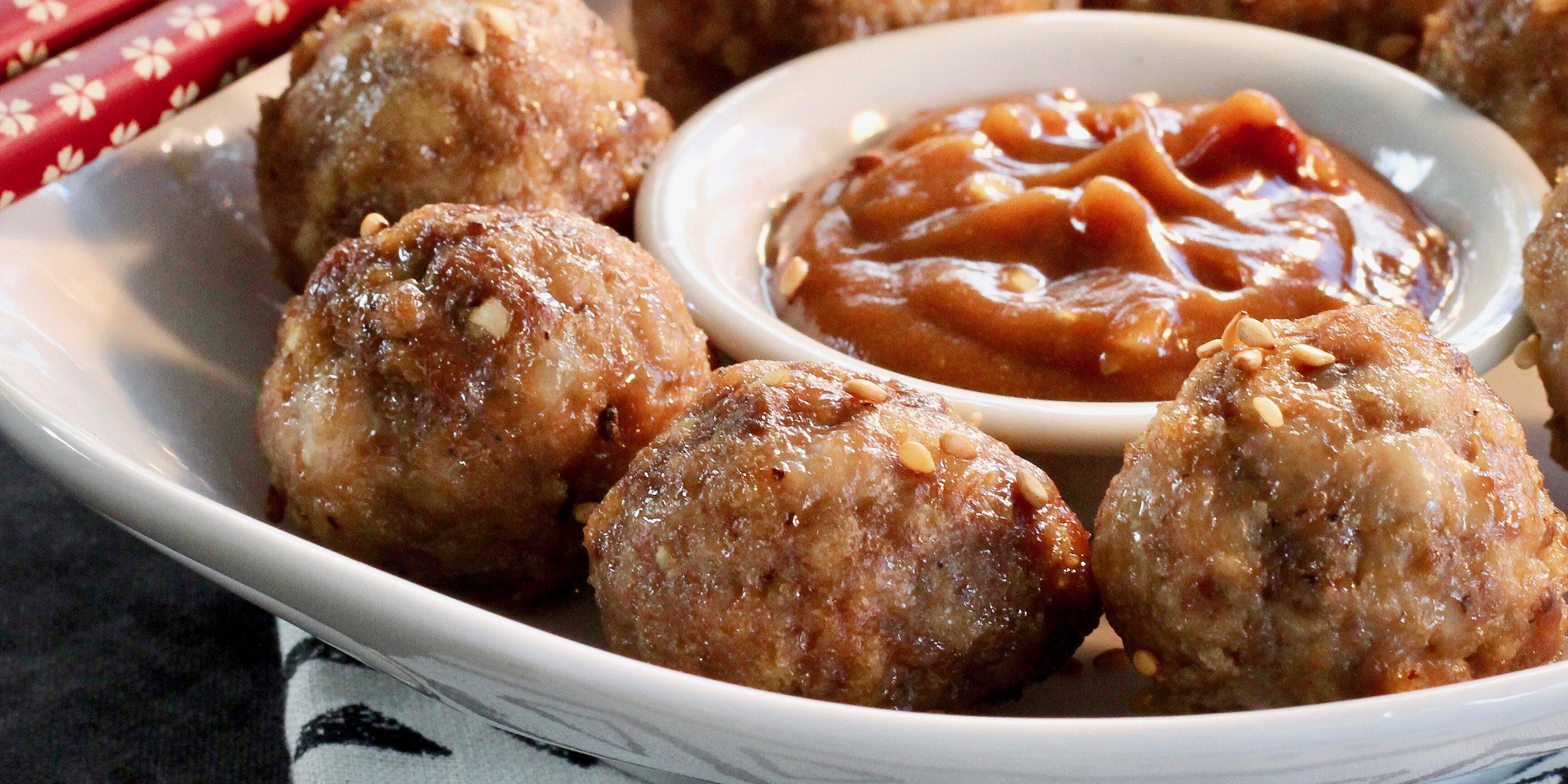 bulgogi meatballs recipe