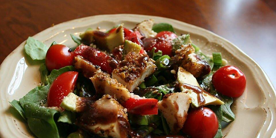 spinach salad with pistachio chicken recipe