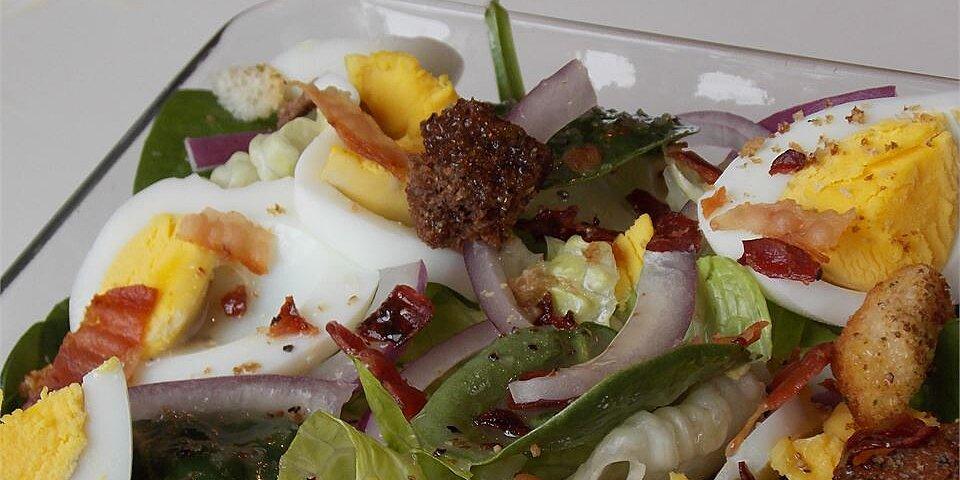 spinach salad i recipe