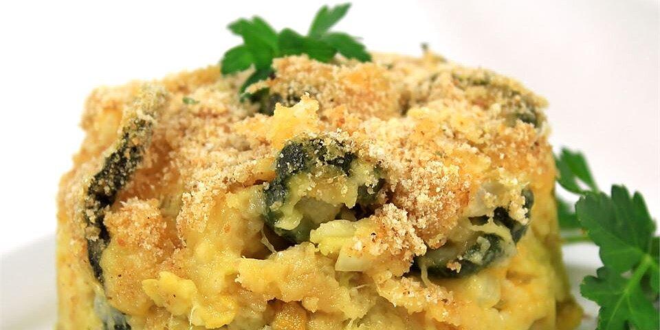 cheesy squash and zucchini casserole recipe
