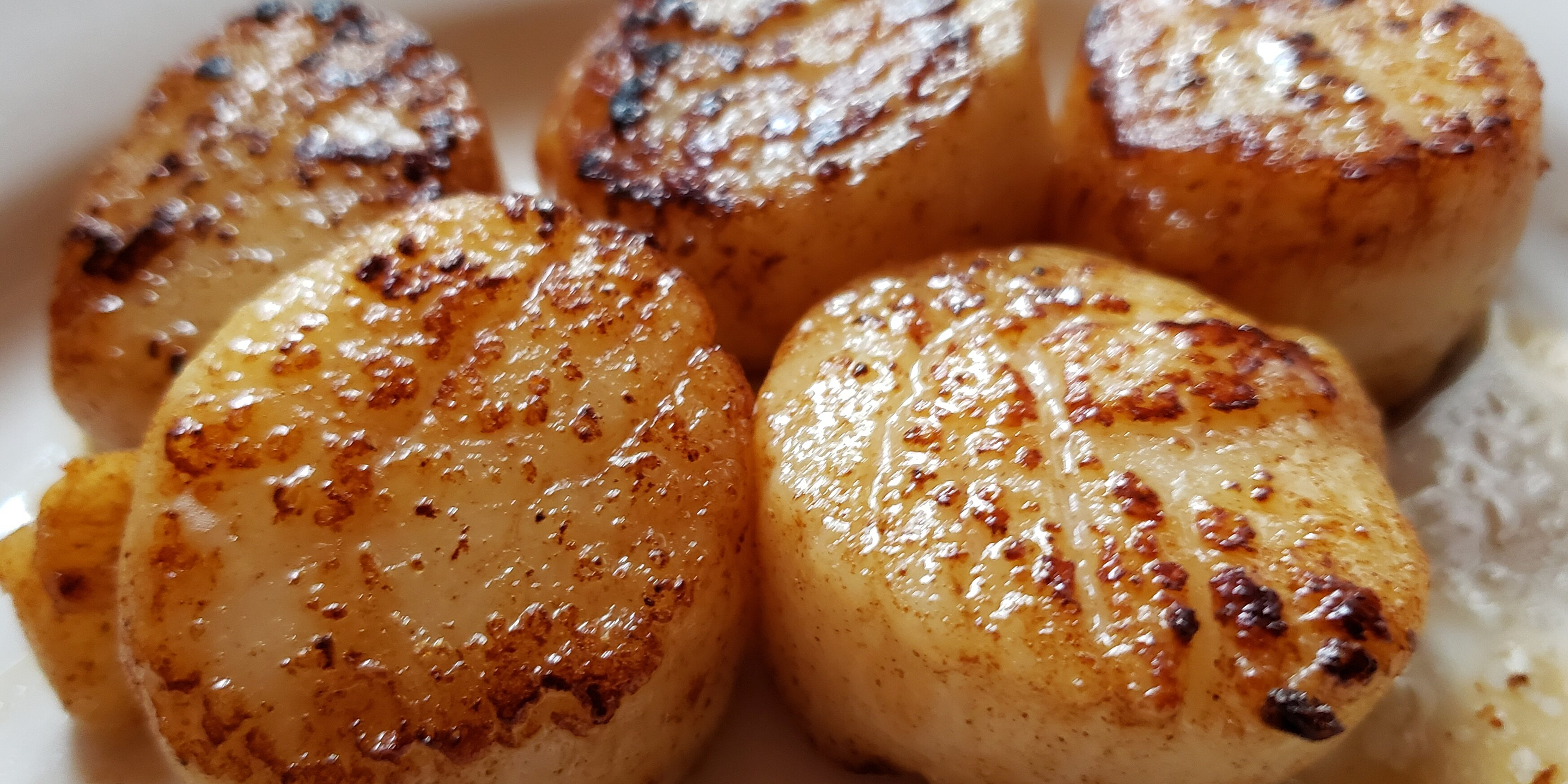 easy garlic lemon scallops recipe