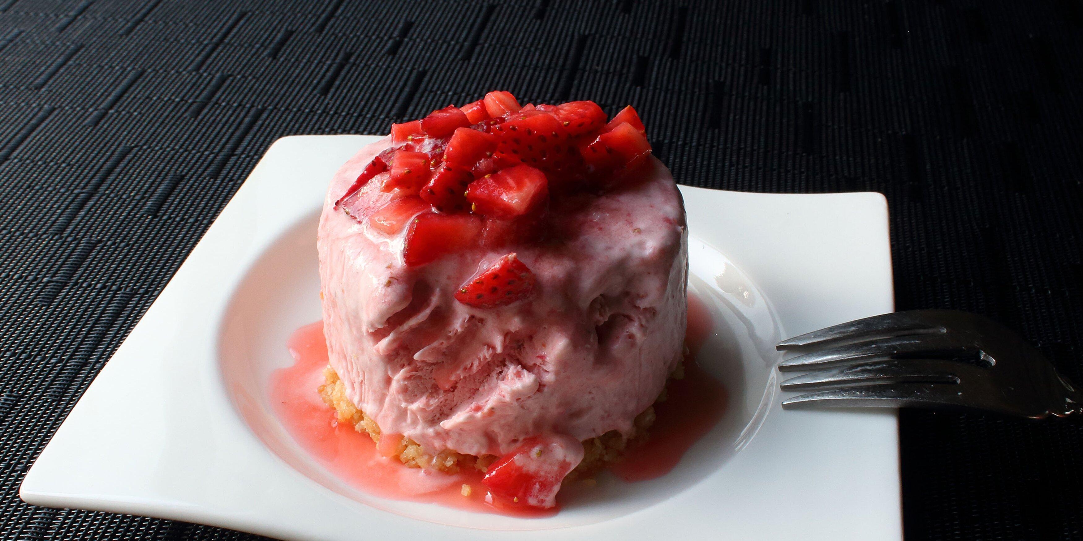 chef johns strawberry semifreddo