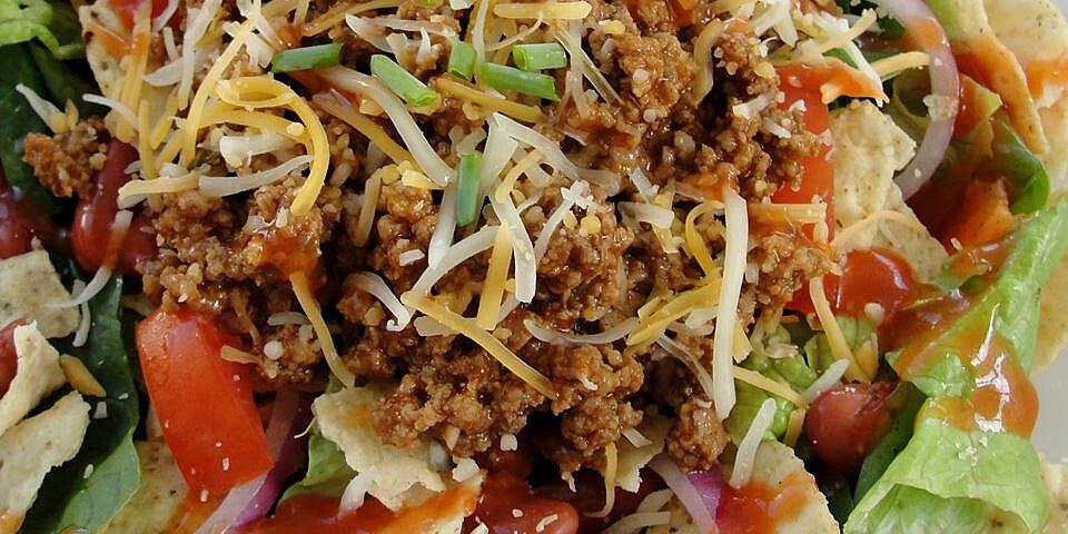 sues taco salad recipe