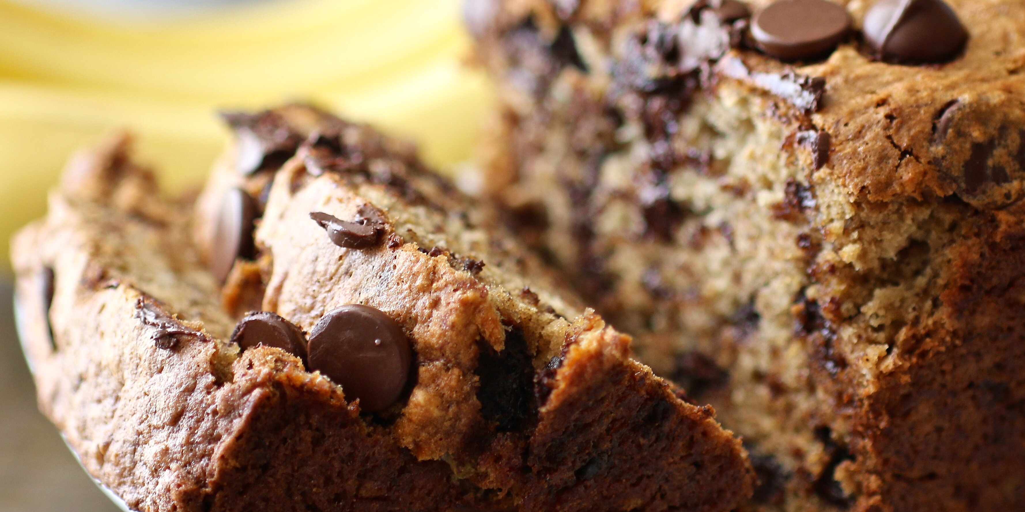 banana chocolate chip bread recipe