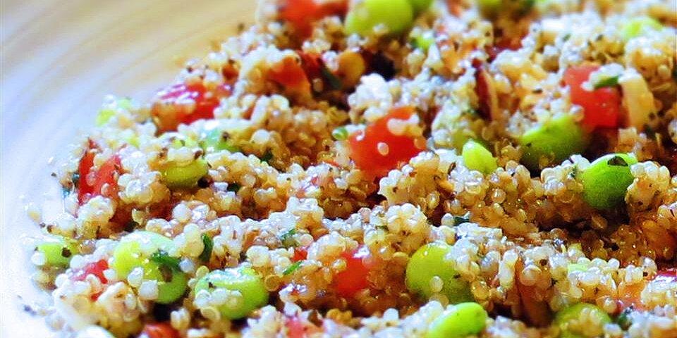 balsamic and herb quinoa salad recipe